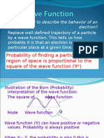 Lecture 4 Wavefunction New