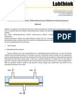 Two Different Test Method Different Pressure Method and Equal Pressure Method