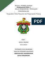 Modul Pembelajaran 1 (Audit Siklus Pendapatan, Pengujian Pengendalian)