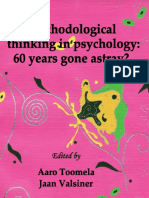 Methodological Thinking in Psychology_ 60 Years Gone Astray_ (PB)-Inform