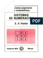 Sistemas de Numeración - S. v. Fomin-FREELIBROS.org
