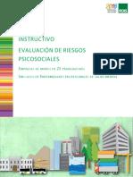 PVRP - Instructivo de Evaluacion Para Organizaciones Con Menos de 25 Personas