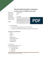RPP Memelihara Engina Dan Komponen-komponennya