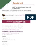 Panetone Recheado Com Chocolate Branco, Frutas Cristalizadas e Nozes - Guia de Fim de Ano - Especiais - GNT