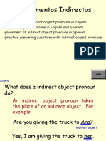 Indirect Object Pro