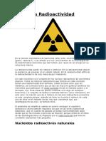 La Radioactividad