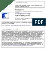 Global Studies