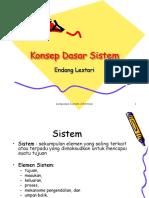 2 Konsep Dasar Sistem