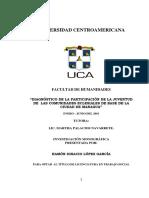 Participacion Juvenil, CEBs_ Monografia