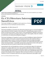 Ex-CIA Directors