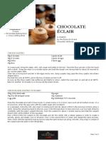 Chocolate Eclairs 2