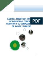 Cartilla Tributaria Impuesto de Industria y Comercio 2015
