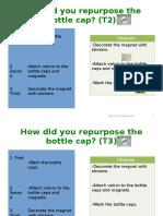 bottlecaprepurpose activitystudent work