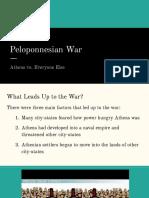 peloponnesian war pptx