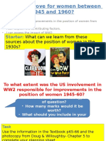 17Did Life Improve for Women 1945-60