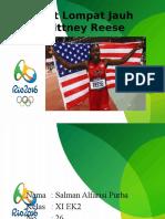 Atlet Lompat Jauh Brittney Reese