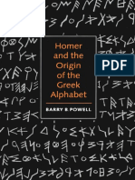 Powell - Homer and the Origin of the Greek Alphabet.pdf c37a3136e54