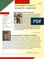 CLR15 Maintenance Company July