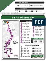 Ruta Alimentador 6-9 ARBORIZADORA ALTA Copia