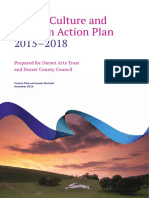 Dorset Culture and Tourism Action Plan Report EXAMPLE