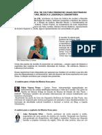 CONSELHO MUNICIPAL DE CULTURA PREENCHE VAGAS DESTINADAS À LITERATURA, MÚSICA E LIDERANÇA COMUNITÁRIA