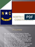 north carolina constitution
