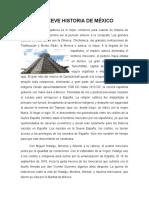 Breve Historia de México