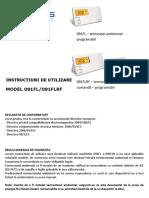 Manual Termostat SALUS