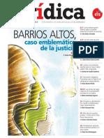 BARRIOS ALTOS, CASO EMBLEMÁTICO DE LA JUSTICIA