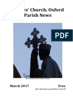 St Giles' Oxford - March 2017 Parish News