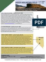 Thunder Mountain FactSheet