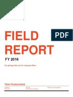 Ore Report