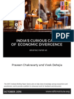 Indias Curious Case of Economic Divergence