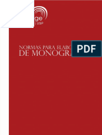 Normas elaboração monografia