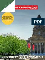 Mainstreet - Alberta February 2017 - Carbon Tax