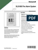XLS1000 Spec Data