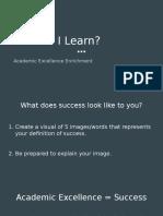 ae how do i learn- class 1