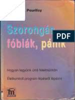 Reneau Z. Peurifoy - Szorongas Fobiak Panik