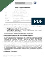 Informe de Acompañamiento Especializado Noviembre
