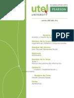 Tarea 7- Analisis y Diseño de Sistemas