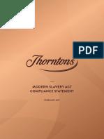200217 Modern Slavery Act Compliance Statement Thorntons (002)
