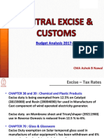 Central Excise Customs