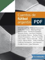Cuentos de futbol argentino - AA VV.pdf