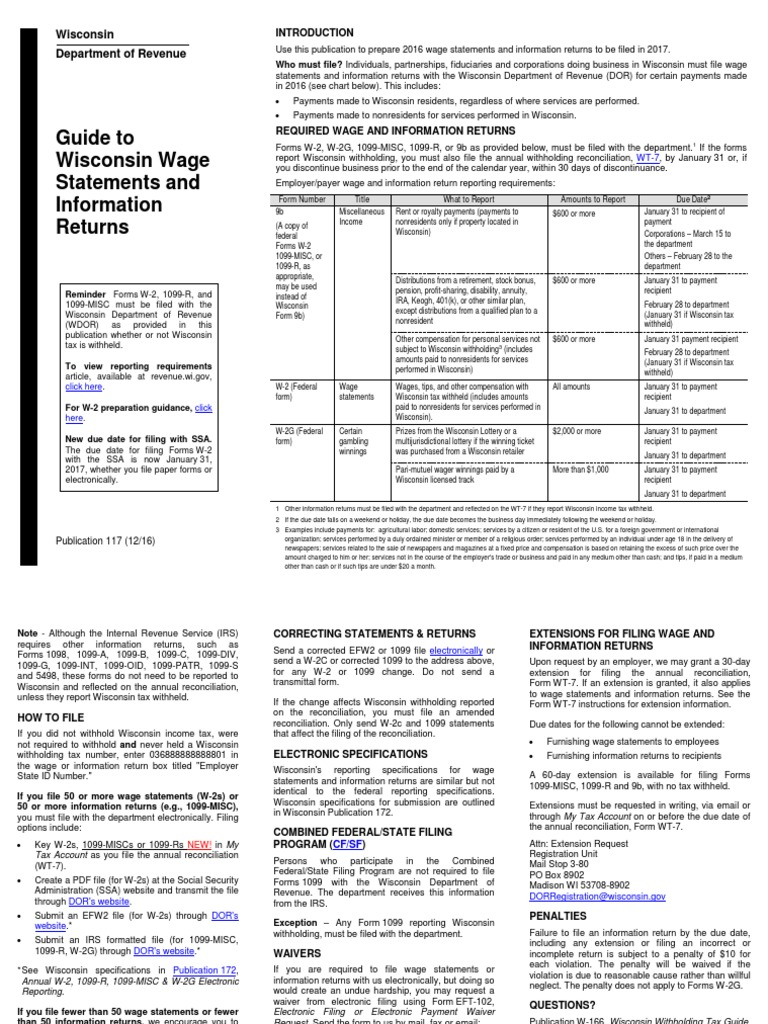 1099 form wisconsin  pb11 | Irs Tax Forms | Withholding Tax
