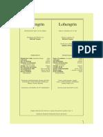 Lohengrin Libretto