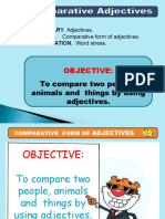 Comparative Form of the Adjectives _euro