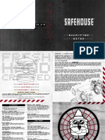 SafeHouse Chicago Menu