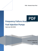 MONTE RIO - Frecuency Failure Anaylisis - Fuel Injection Pumps