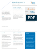 Improve Insurance Operations With Embedded Analytics