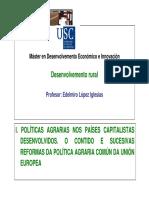 I. Políticas agrarias- PAC de prezos e mercados (MDEIN)